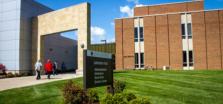 Exterior of the Middletown Campus