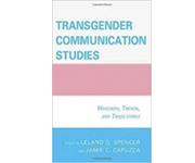 book cover of Transgender Communication Studies