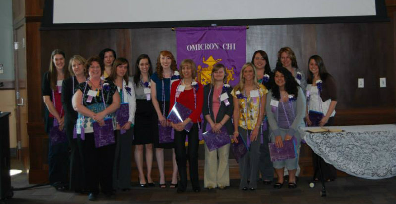 2011 Omicron Chi inductees