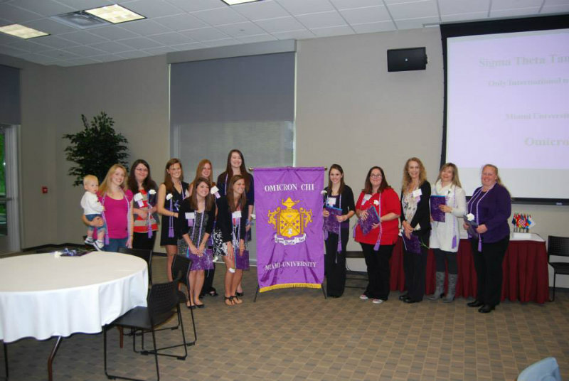 2012 Omicron Chi inductees