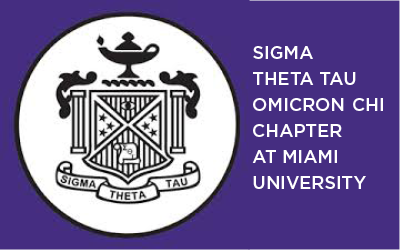 Logo of Sigma Theta Tau Omicron Chapter at Miami University