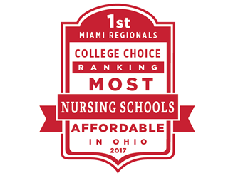 Miami Regionals, 1st College Choice Ranking Most affordable Nursing Schools in Ohio 2017