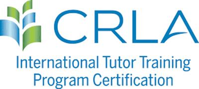 CRLA Certification International Tutor Training Program Certification.