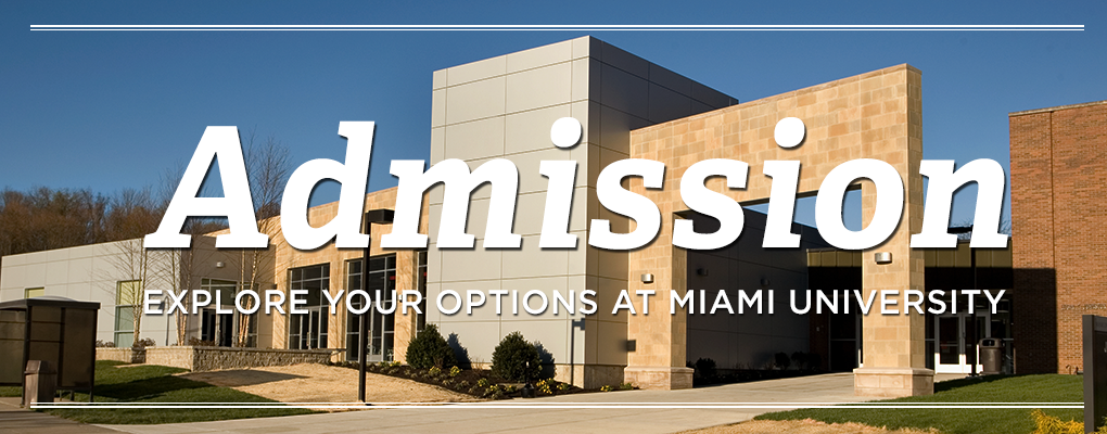 Middletown campus | Admission | Explore your options at Miami University