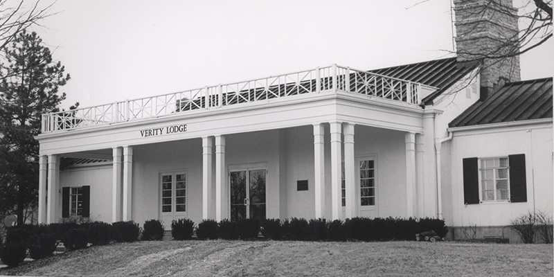 Verity Lodge in 1969