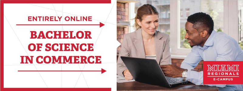 Entirely Online. Bachelor of Science in Commerce