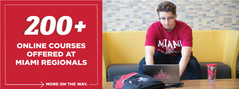 200+ Online courses offered at Miami Regionals