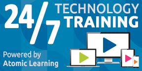 Atomic Learning twenty four seven training