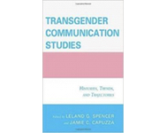 book cover of Transgender Communication Studies