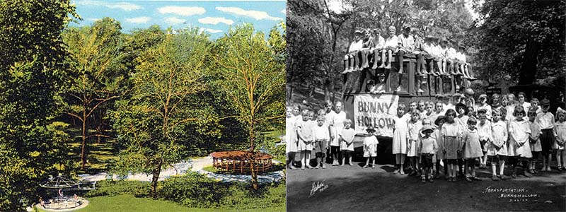 Left: Armco Park Right:Bunny Hollows Players