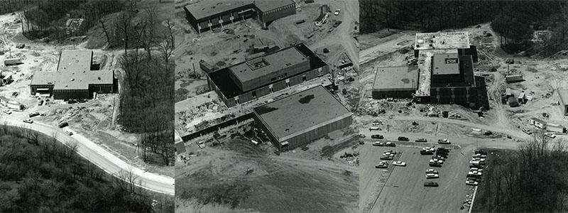 Building construction for the Miami Middletown Campus