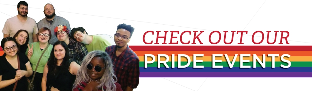 Check out our pride events