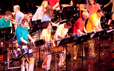 Miami University Oxford's Steel Band