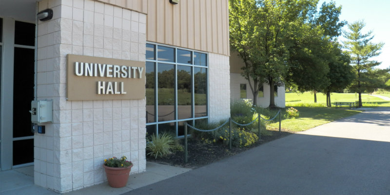 Exterior of University Hall