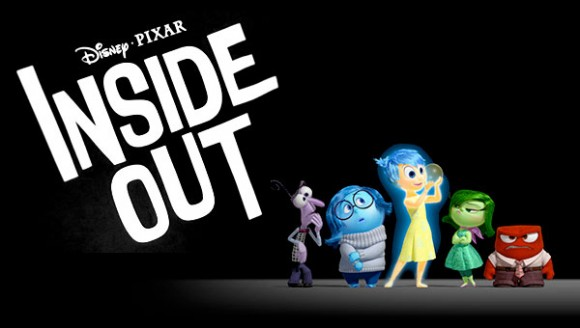 Disney Pixar Inside Out Movie Poster