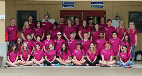 Group picture of 2014 LeaderShape participants and facilitators