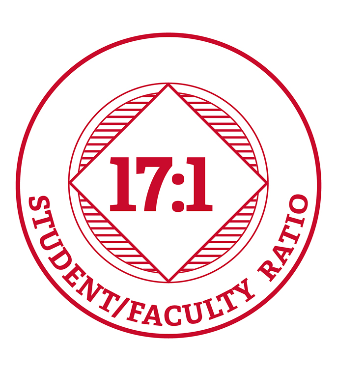 17 to 1 Student Faculty Ratio