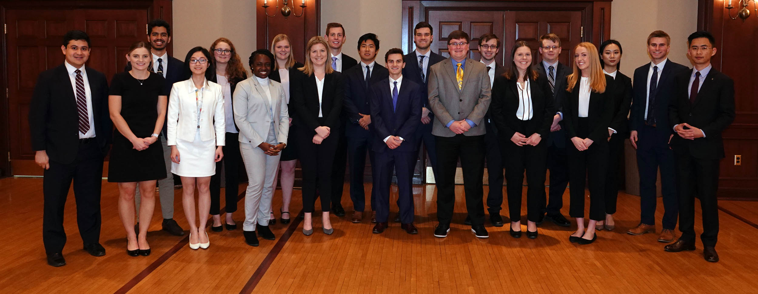 Douglas Millett case competition participants