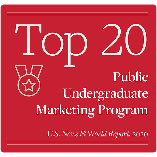 top 20 public undergraduate marketing proram u.s. news & world report, 2020